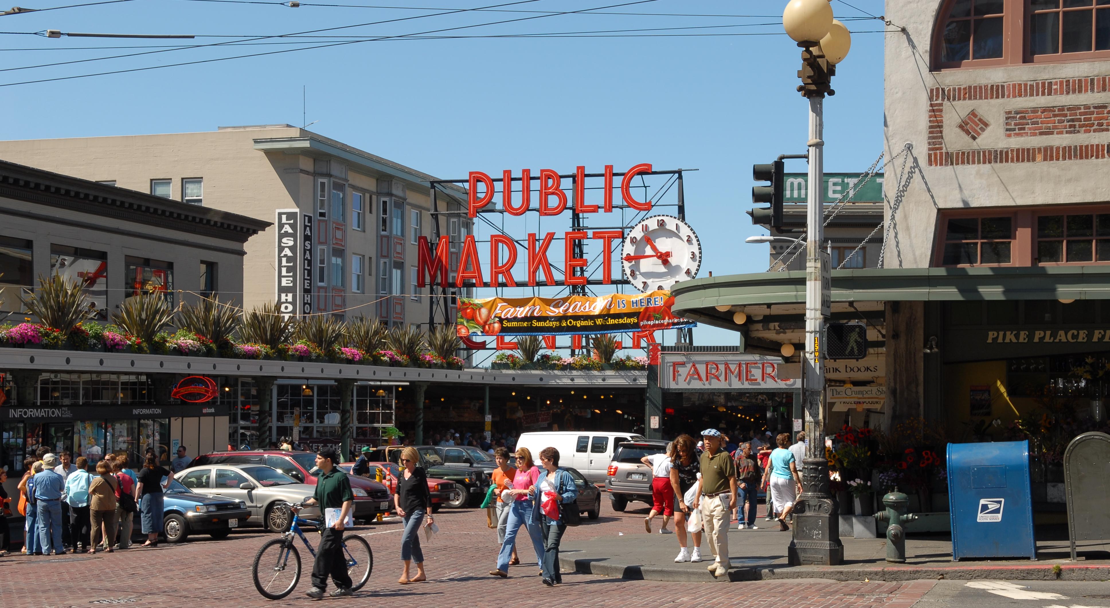 Seattle's famed Public Market